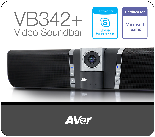 Aver Vb342+                                         4K Video Soundbar-01-1